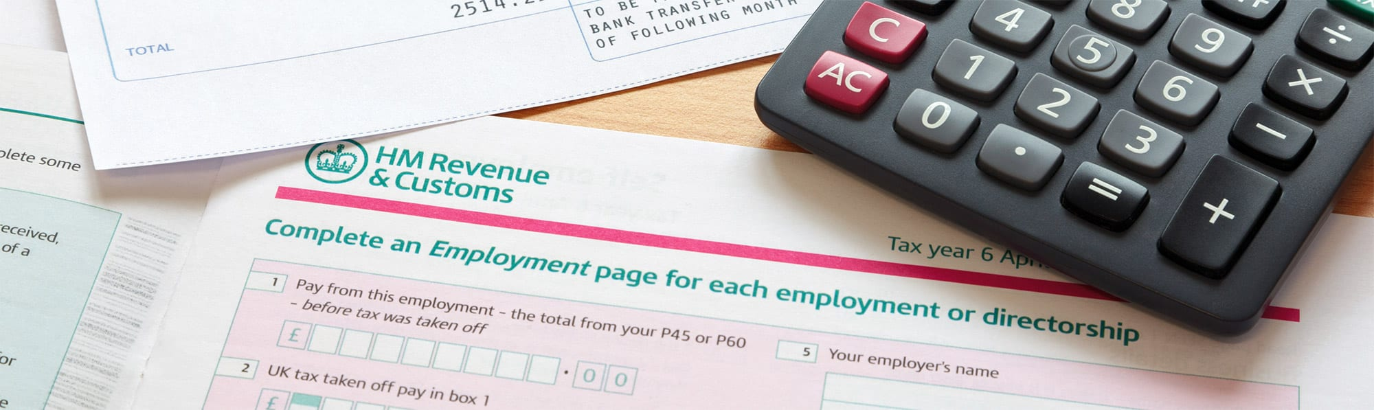 Self Assessments and Tax Returns